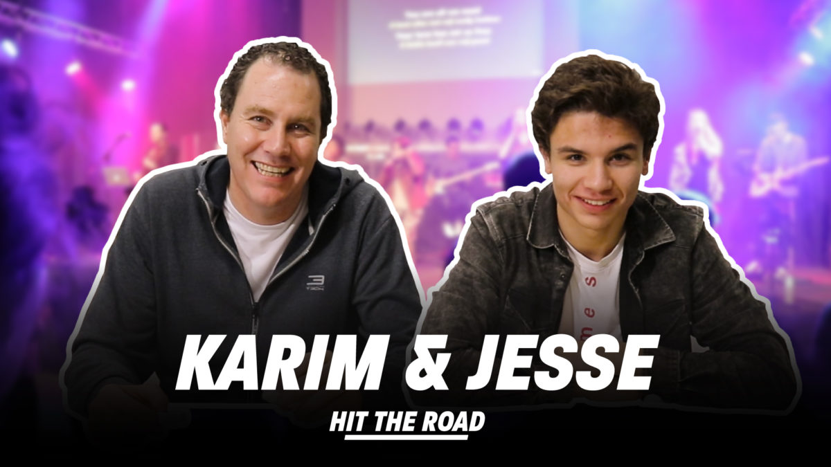 Hit The Road met Karim en Jesse Landoulsi